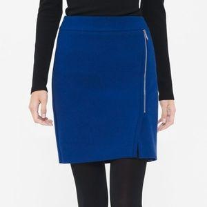 White House Black Market Zip Boot Skirt
